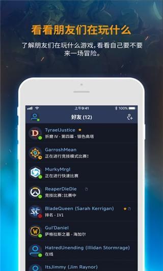 暴雪战网app软件截图1