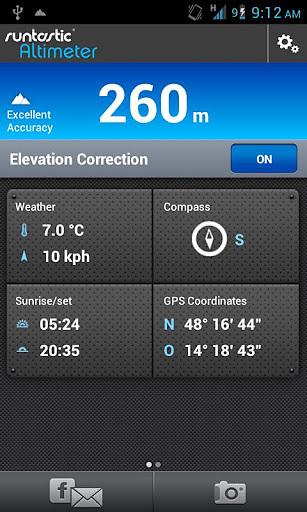 海拔测量仪专业版软件截图0