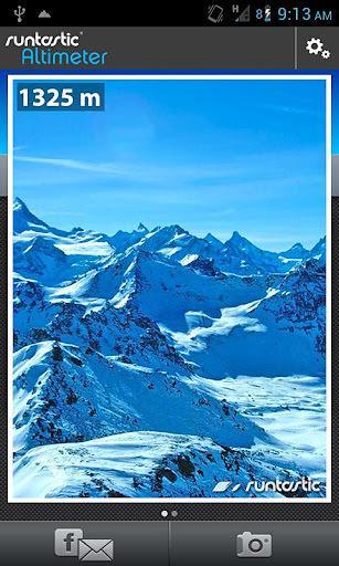 海拔测量仪专业版软件截图5