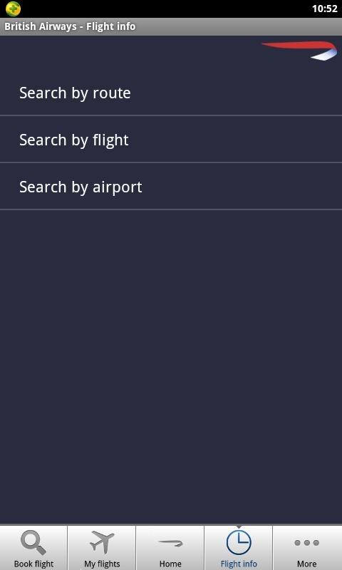 英国航空公司软件截图1