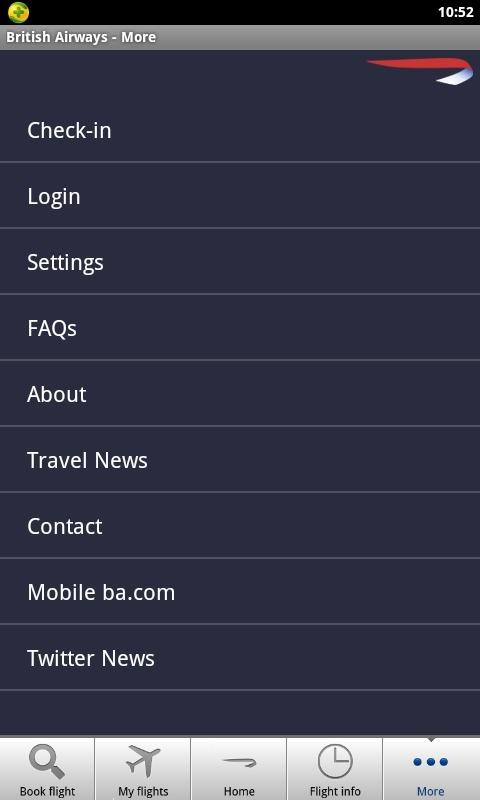 英国航空公司软件截图2