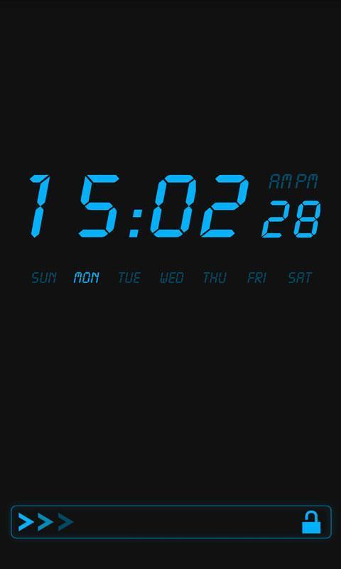 液晶时钟软件截图1