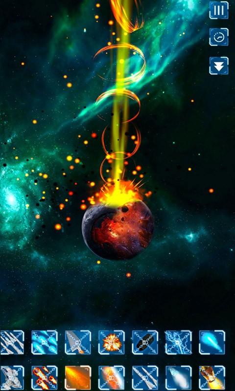 星球毁灭模拟器软件截图0