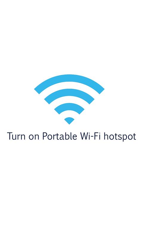 便携式 Wi-Fi 热点软件截图0