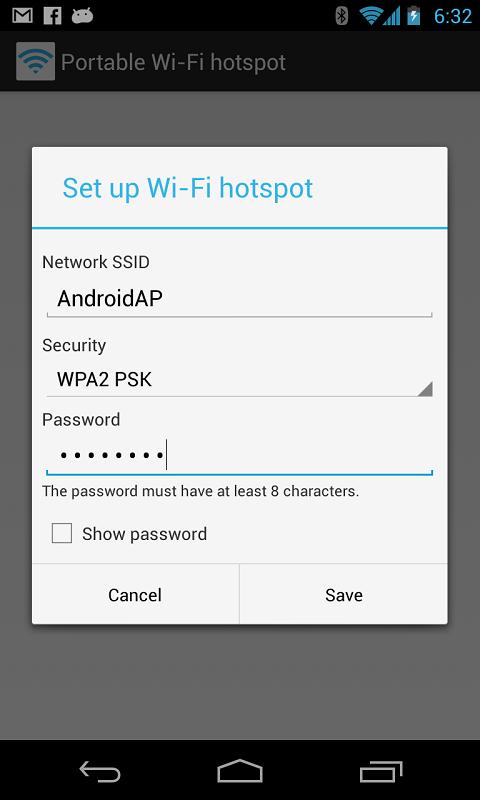 便携式 Wi-Fi 热点软件截图3