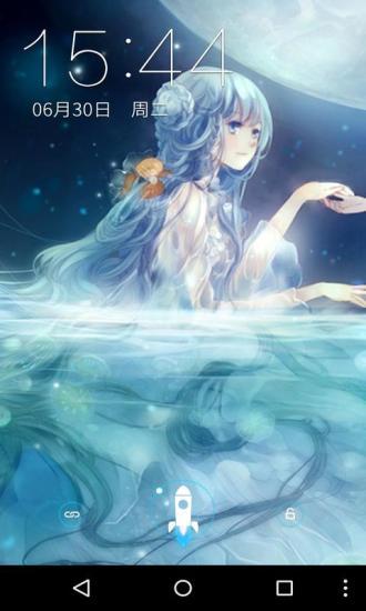 月亮日系少女梦象壁纸软件截图3