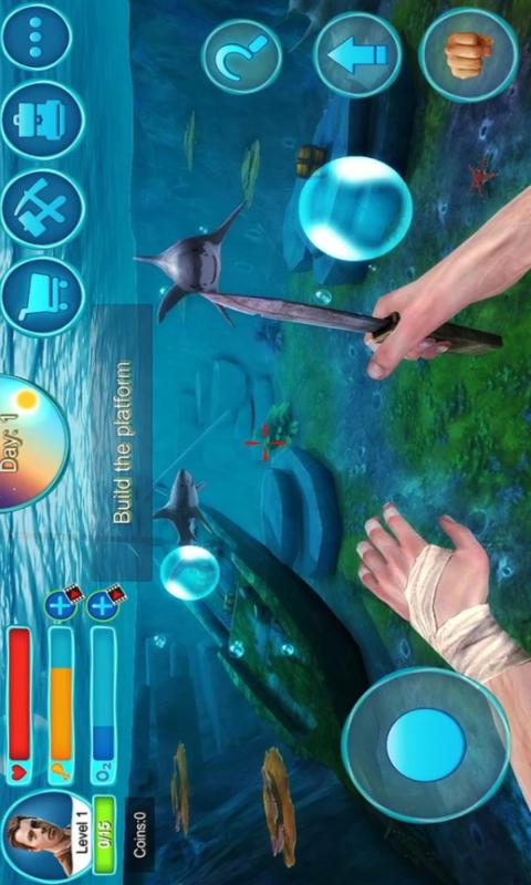 木筏求生-饥饿鲨软件截图1