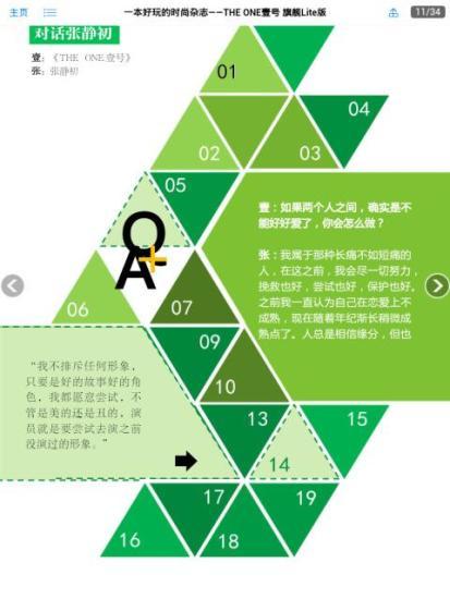 一本好玩的时尚杂志——THE ONE壹号软件截图0