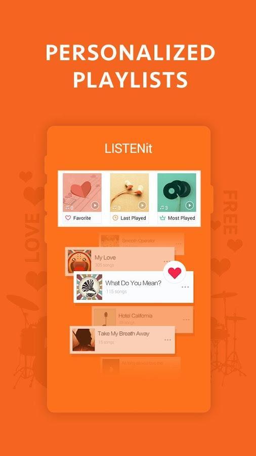 茄子音乐 LISTENit软件截图1