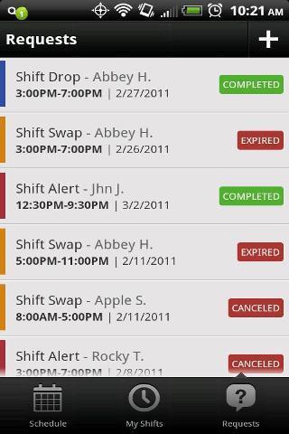 在线工作时间表软件截图0