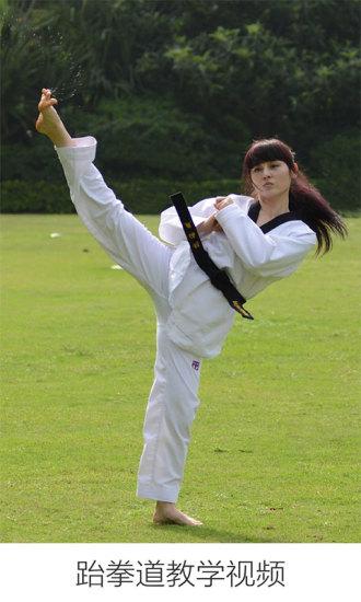 跆拳道教学视频